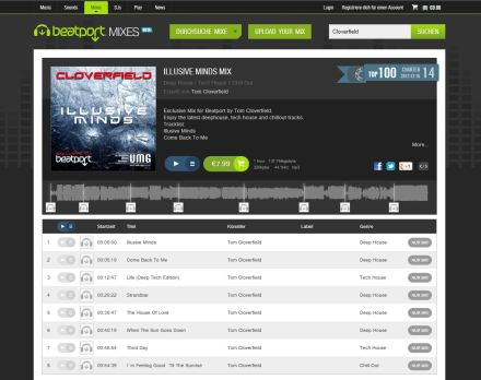 Bbeatport DJ Mix Illusive Minds 2012 screenshot