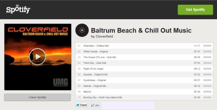 spotify Baltrum Album