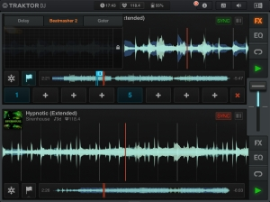 Traktor DJ iPad Screenshot 1 Sirenhouse