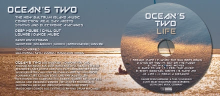 CD OCEANS TWO Digipack Rückseite