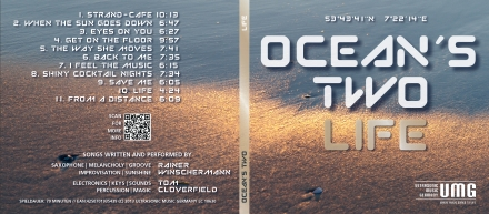 CD OCEANS TWO Digipack Vorderseite