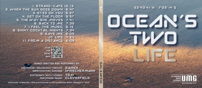 CD OCEANS TWO Digipack Vorderseite